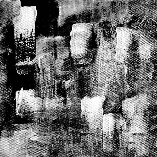 Painting - 4-09-17-2-b-w by VIVA Anderson
