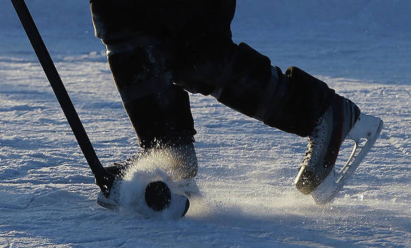 Eagle Photograph - 2013 Usa Hockey Pond Hockey National by Bruce Bennett