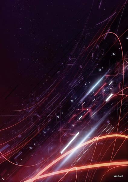 Digital Image Digital Art - Abstract Digitally Generated Image by Digital Vision.