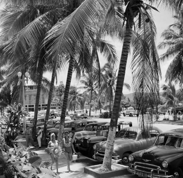 Parking Photograph - Acapulco, Mexico by Michael Ochs Archives