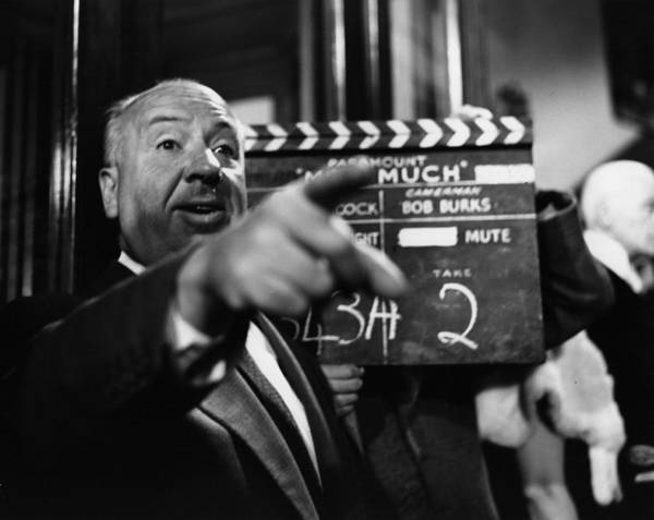 Teaching Photograph - Alfred Hitchcock by Baron