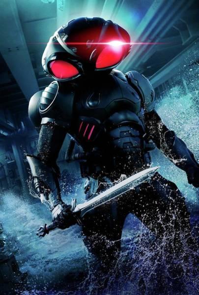 Robin Digital Art - Aquaman by Geek N Rock