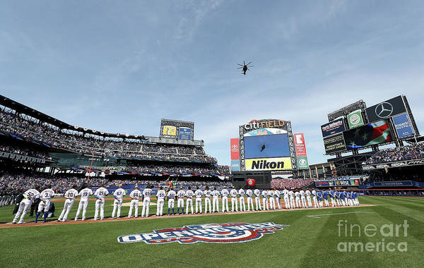 Photograph - Atlanta Braves V New York Mets by Elsa