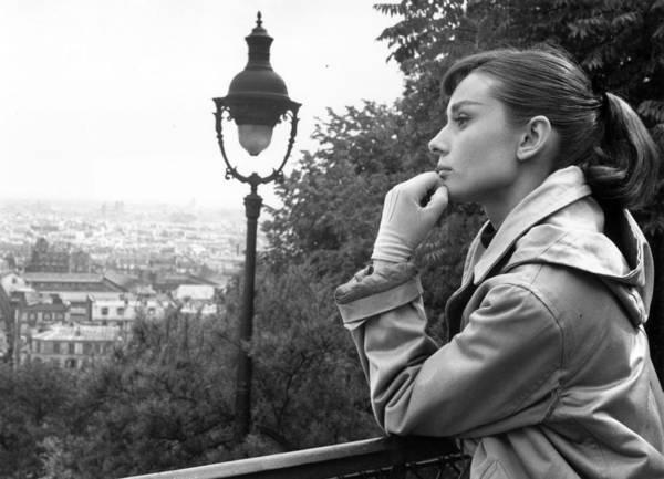 Photograph - Audrey Hepburn by Bert Hardy