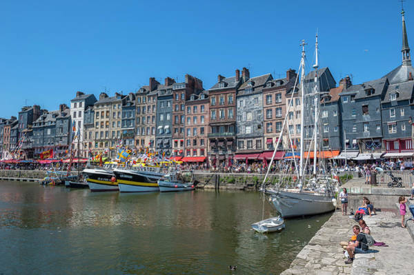Wall Art - Photograph - Avant Port, Honfleur, Normandy, France by Lisa S. Engelbrecht