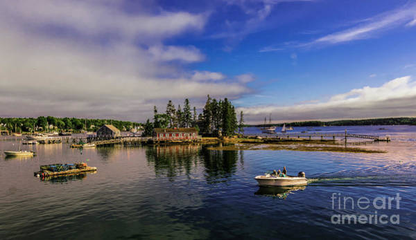 Photograph - Boothbay Harbor Maine by New England Photography