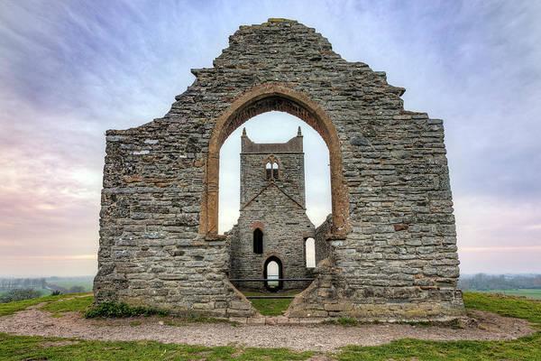 Wall Art - Photograph - Burrow Mump - England by Joana Kruse