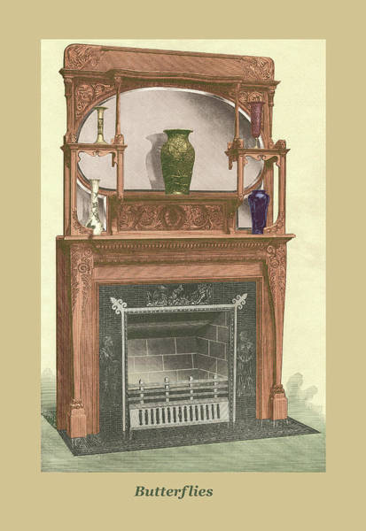 Mixed Media - Butterflies by Unknown