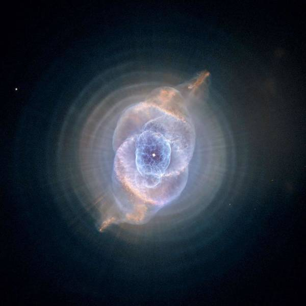 Wall Art - Painting - Cat's Eye Nebula 3 by Celestial Images