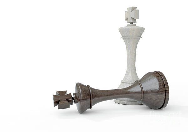 Wall Art - Digital Art - Chess Kings by Allan Swart