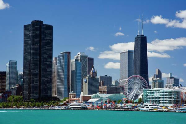 Usa Navy Photograph - Chicago, Il by Adam Jones