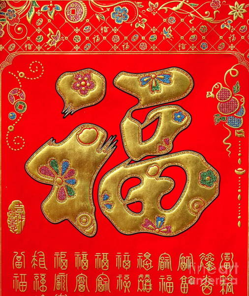 Chinese New Year Photograph - Chinese New Years Decorations For 2019 by Yali Shi