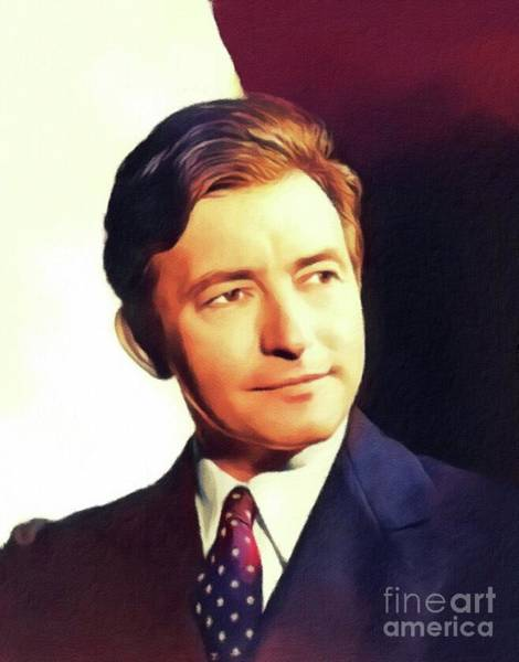 Wall Art - Painting - Claude Rains, Vintage Actor by John Springfield