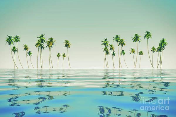 Wall Art - Photograph - Coconut Island At Tropic Sea by Aleksey Tugolukov