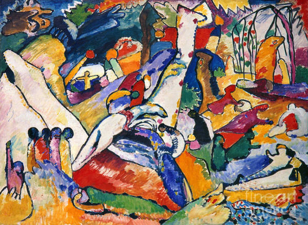 Photograph - Composition by Wassily Kandinsky