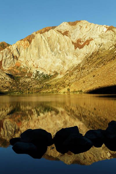 Wall Art - Photograph - Convict Lake At Sunrise, California by Adam Jones