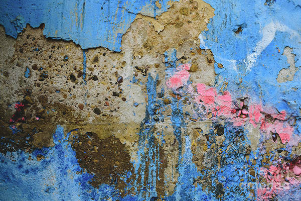 Photograph - Detail Of An Anonymous Street Graffiti With Many Colors, Cheerful Urban Background. by Joaquin Corbalan