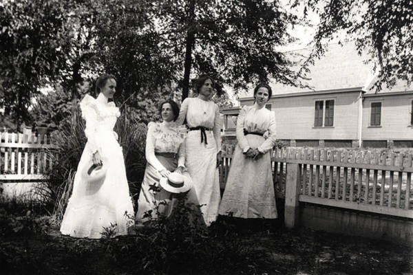 Photograph - 4 Dresses by John Jr Gholson
