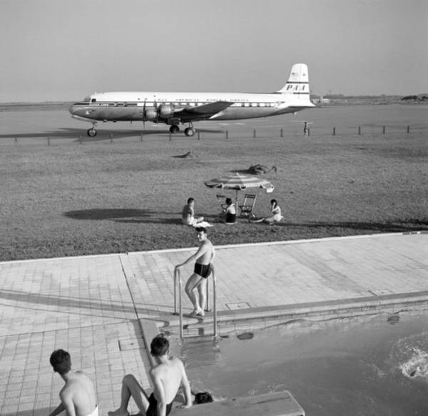 Photograph - Ezeiza Airport, Argentina by Michael Ochs Archives