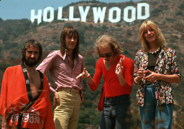 Wall Art - Photograph - Fleetwood Mac In Hollywood by Michael Ochs Archives