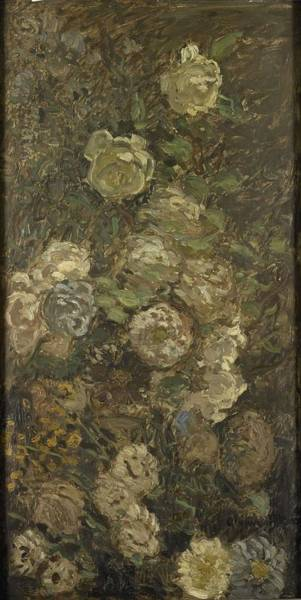 Painting - Flowers by Claude Monet