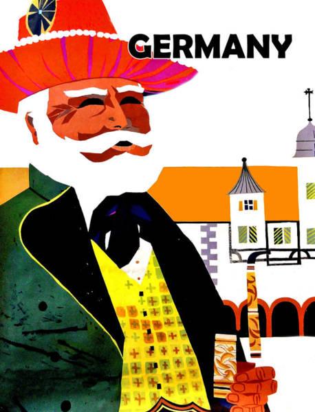 Wall Art - Digital Art - Germany by Long Shot