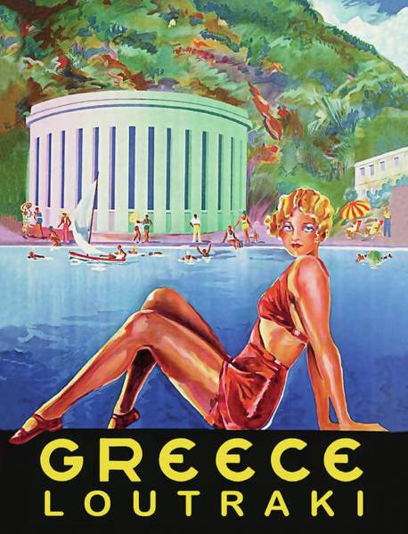 Wall Art - Digital Art - Greece by Long Shot