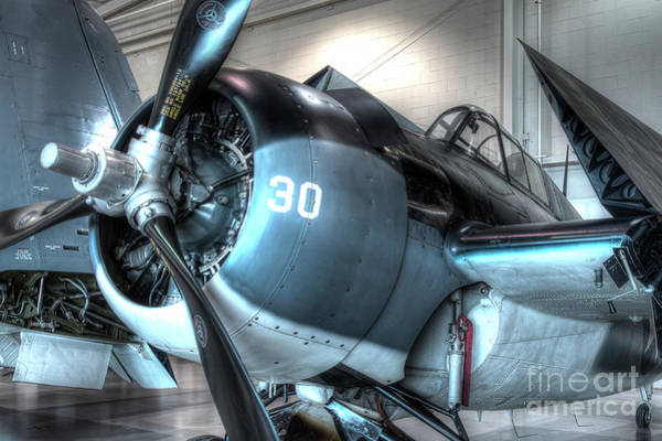 Ju 52 Wall Art - Photograph - Grumman, Fm-2, Wildcat by Greg Hager