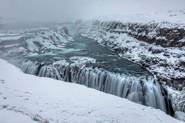 Wall Art - Photograph - Gullfoss - Iceland by Joana Kruse