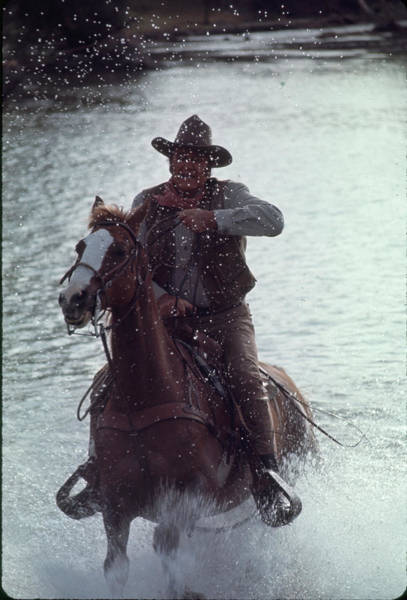 Wall Art - Photograph - John Wayne by John Dominis