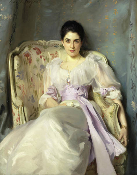 Galloway Wall Art - Painting - Lady Agnew Of Lochnaw by John Singer Sargent