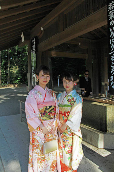 Photograph - Meiji Jingu Shrine - Tokyo, Japan by Richard Krebs