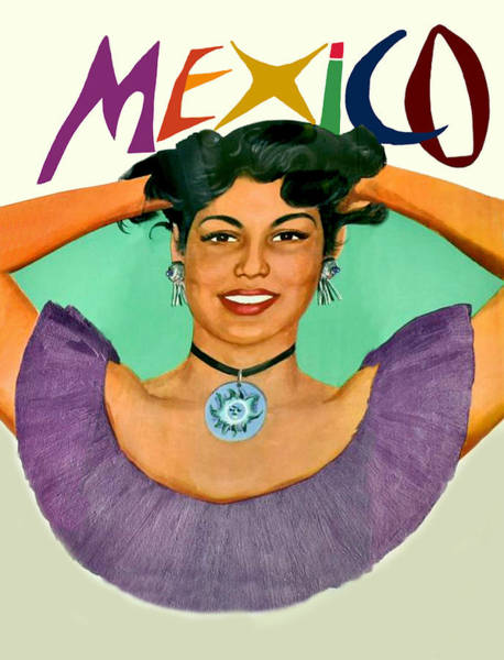 Wall Art - Digital Art - Mexico by Long Shot