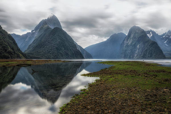 Te Waipounamu Wall Art - Photograph - Milford Sound - New Zealand by Joana Kruse
