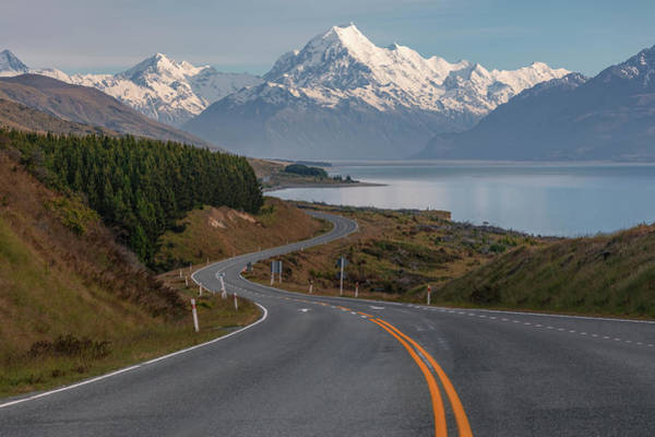 Stadt Photograph - Mount Cook - New Zealand by Joana Kruse