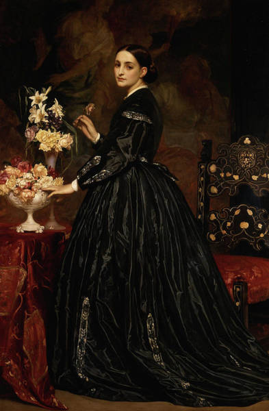 Wall Art - Painting - Mrs. James Guthrie by Frederic Leighton