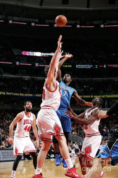 Photograph - Orlando Magic V Chicago Bulls by Gary Dineen