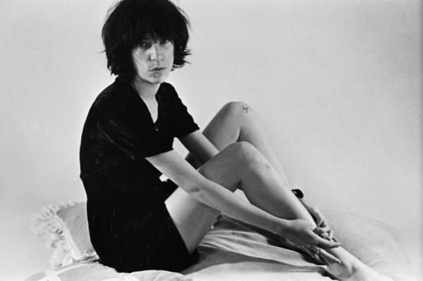 Punk Rock Wall Art - Photograph - Patti Smith Portrait Session by Michael Ochs Archives