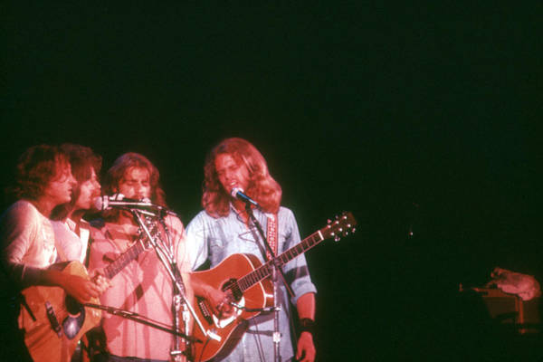 Rock Music Photograph - Photo Of Eagles by Michael Ochs Archives