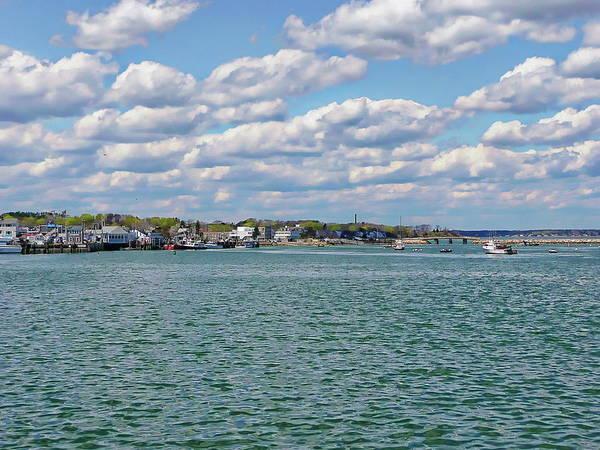 Photograph - Plymouth Harbor by Anthony Dezenzio