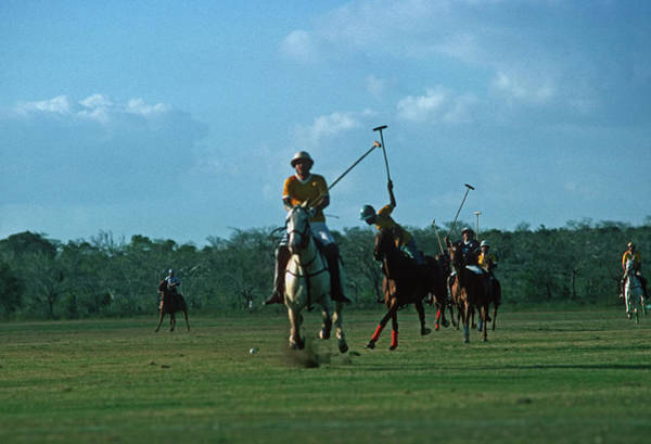 Dominican Republic Photograph - Polo Match by Slim Aarons