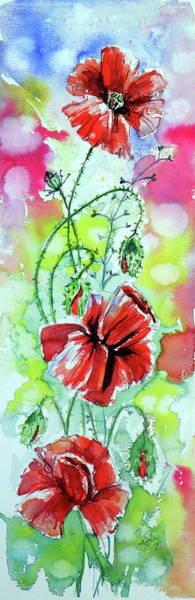Wall Art - Painting - Poppies Of Summer by Kovacs Anna Brigitta
