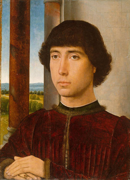 Painting - Portrait Of A Young Man by Hans Memling