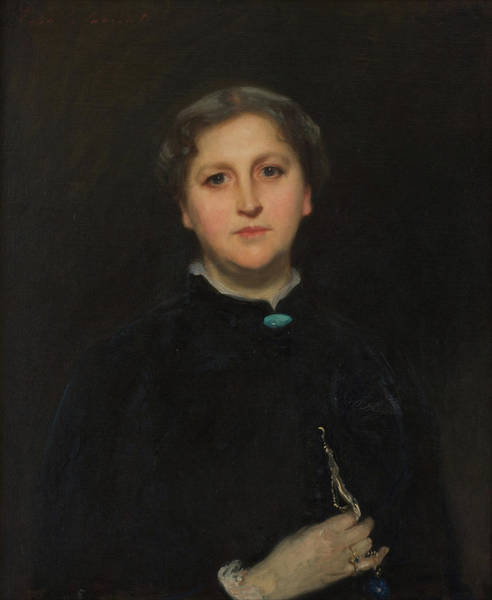 Wall Art - Painting - Portrait Of Mrs. Raphael Pumpelly by John Singer Sargent