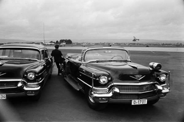 Us President Photograph - President Kennedy Arrives In Berlin by Michael Ochs Archives