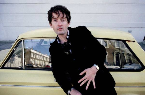 Photograph - Pulp Singer Jarvis Cocker London 1991 by Martyn Goodacre
