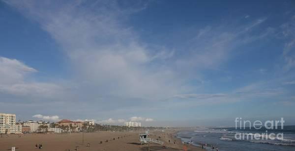 Photograph - Santa Monica Beach, Santa Monica, California by John Shiron
