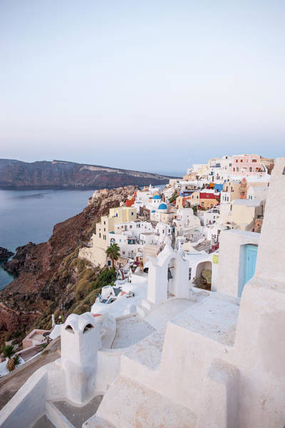 Greek Photograph - Santorini, Greece by Neil Emmerson