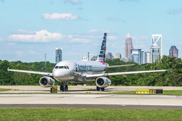 Photograph - Scenes From Charlotte North Carolina Airport by Alex Grichenko