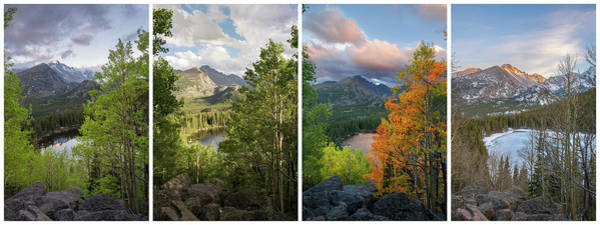 Wall Art - Photograph - 4 Seasons - Bear Lake by Aaron Spong